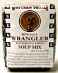 Picture of Wrangler Black Bean & Black Barley Soup Mix